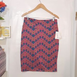 🆕️ LulaRoe | Geometric Print Cassie Pencil Skirt